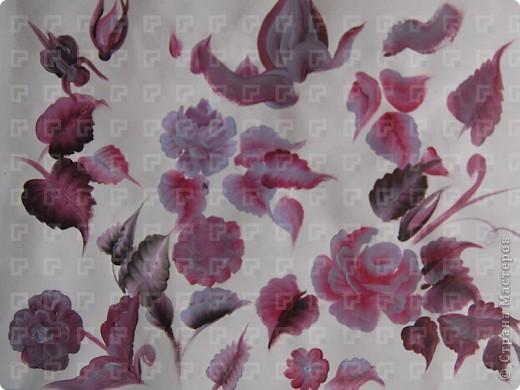 Рисунок не очень четкий, ибо краски взяла не для керамики, а обычные художественные фото 2