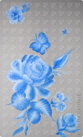 Рисунок не очень четкий, ибо краски взяла не для керамики, а обычные художественные фото 5