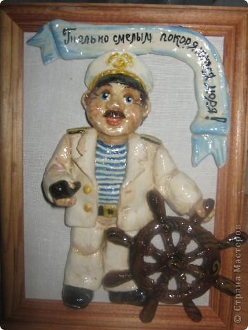 Вот такой вот моряк получился.