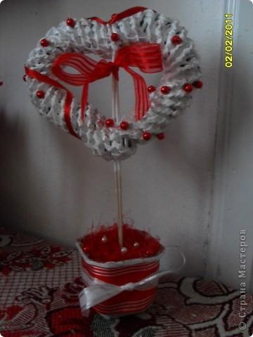 Валентинка газетная фото 1