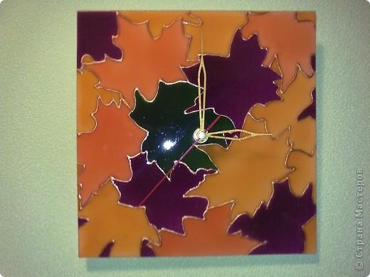Витражные краски на пластике. фото 1