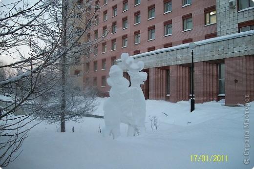 Ледяные скульптуры фото 1