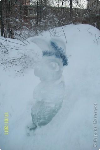 Ледяные скульптуры фото 3