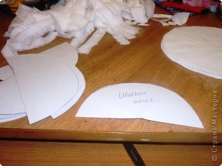 Здравствуйте! Хочу поделиться своими секретами(?!) изготовления ангелочков ко Дню матери.Процесс занял один день.  фото 10