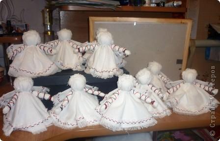 Здравствуйте! Хочу поделиться своими секретами(?!) изготовления ангелочков ко Дню матери.Процесс занял один день.  фото 11