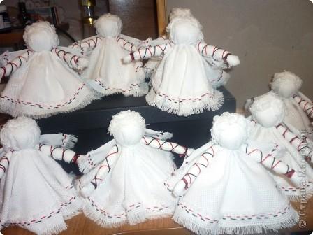 Здравствуйте! Хочу поделиться своими секретами(?!) изготовления ангелочков ко Дню матери.Процесс занял один день.  фото 12