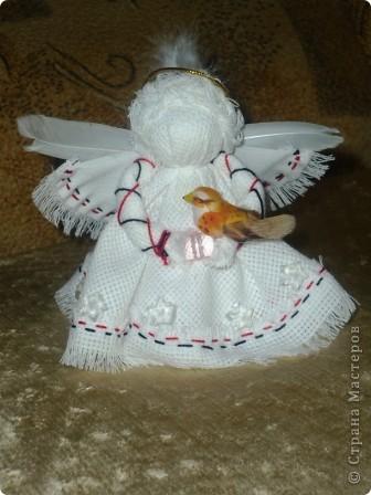 Здравствуйте! Хочу поделиться своими секретами(?!) изготовления ангелочков ко Дню матери.Процесс занял один день.  фото 1