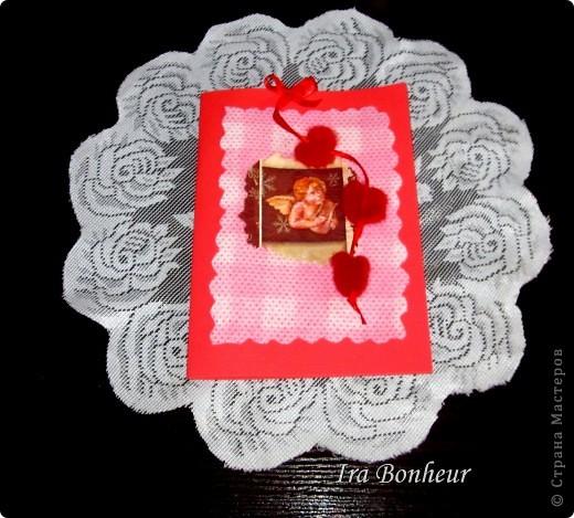 Открытка с днём святого Валентина фото 1