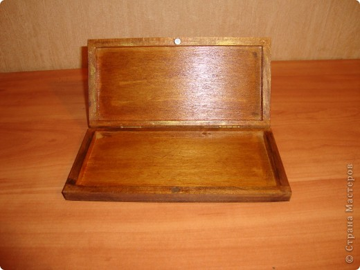 Прямой декупаж-краска с эффектом керамики,три оттенка золотой краски,кракелюр,лаки. фото 6