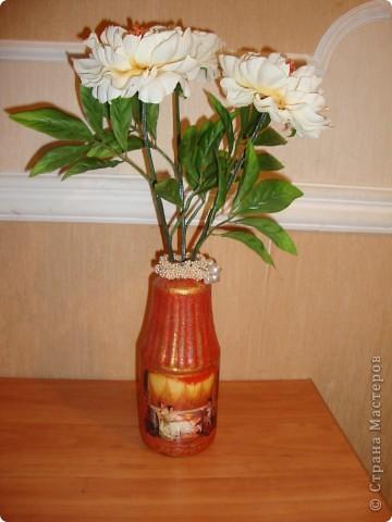 Прямой декупаж-краска с эффектом керамики,три оттенка золотой краски,кракелюр,лаки. фото 2