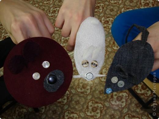 """По мотивам """"Веселой мышки"""" и зверюшек Татьяны Михайловны мои ребята сделали с малышами вот таких зверюшек для пальчиков. фото 2"""