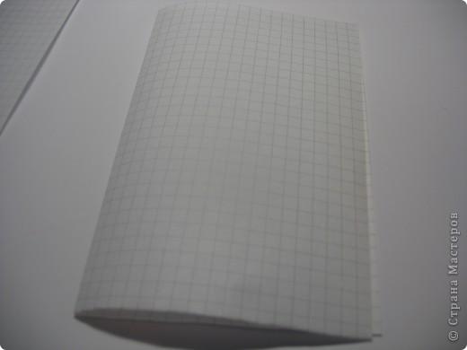 возьмите тетрадные листы в клетку, я взяла 4 фото 2