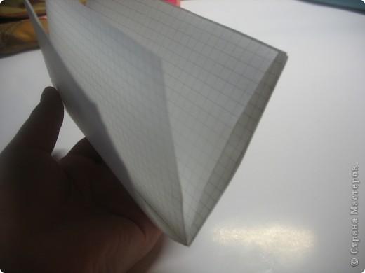 возьмите тетрадные листы в клетку, я взяла 4 фото 3