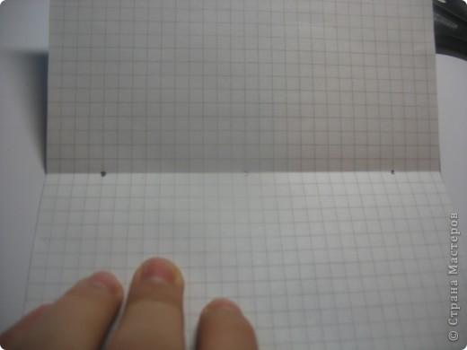 возьмите тетрадные листы в клетку, я взяла 4 фото 8