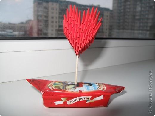 Вот немного видоизменила букетик Татьяны Просняковой http://stranamasterov.ru/technics/heart_bunch.html?c=favorite фото 2