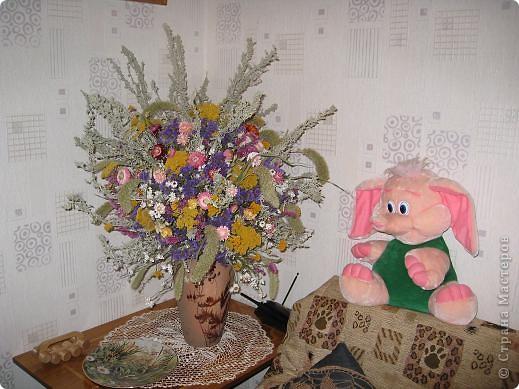 Сухоцветы.Букет. фото 1
