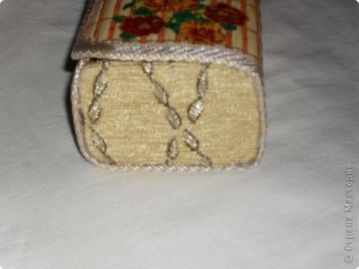 Первая шкатулка из бамбуковой салфетки фото 6
