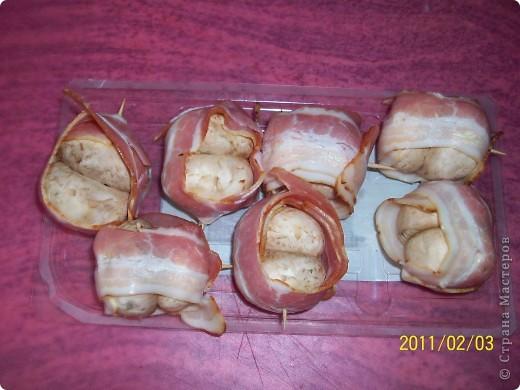 Шампиньоны в шубе. фото 4