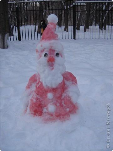 вот такого деда мороза и многое другое я построила для наших детей в саду на конкус фото 1
