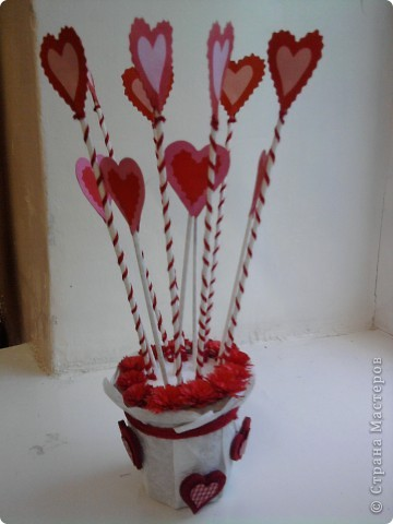 Украшение к дня Св. Валентина фото 1