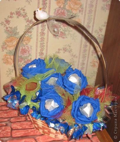 розы из конфет фото 2