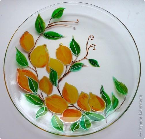 Ветка с лимончиками
