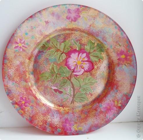 так смотрится эта тарелка при ярком освещении фото 2