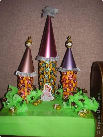 Сладкий замок для малышки-принцессы. фото 2