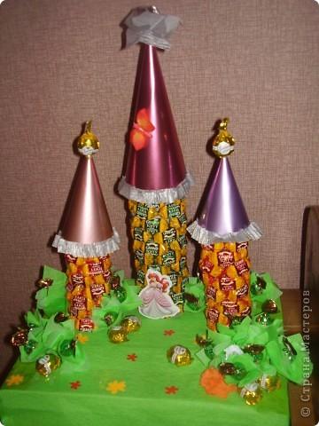 Сладкий замок для малышки-принцессы. фото 1