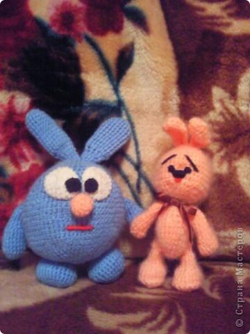 Моя первая вязанная игрушка:) фото 2