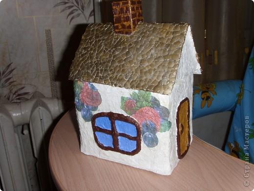 В очередной раз подглядела у мастеров Страны и решила тоже для себя сделать чайный домик. фото 1