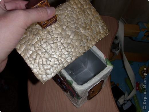 В очередной раз подглядела у мастеров Страны и решила тоже для себя сделать чайный домик. фото 2