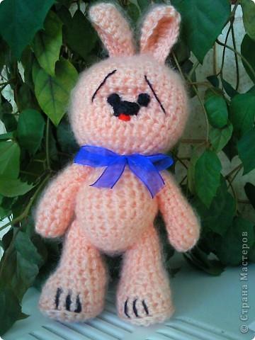 Моя первая вязанная игрушка:) фото 1
