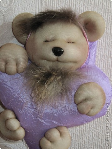 Мишка-сердце фото 1