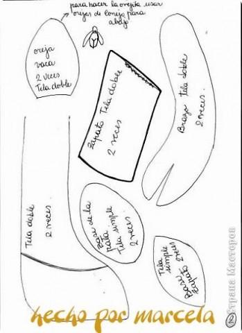 Коровку сотворила за сутки для хорошей подруги на День Рождения. Назвала Ириской, не могла подарить ее безымянной =)). Фото без вспышки. фото 4