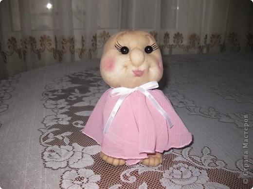 Сшила еще одну кукляшку и представляю на Ваш суд.Когда начинала шить,то и представления не имела,кто у меня получиться. фото 2