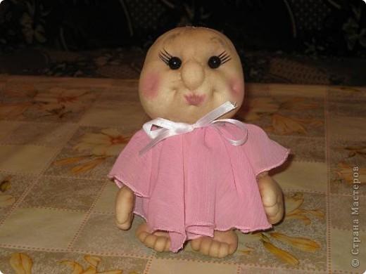 Сшила еще одну кукляшку и представляю на Ваш суд.Когда начинала шить,то и представления не имела,кто у меня получиться. фото 3