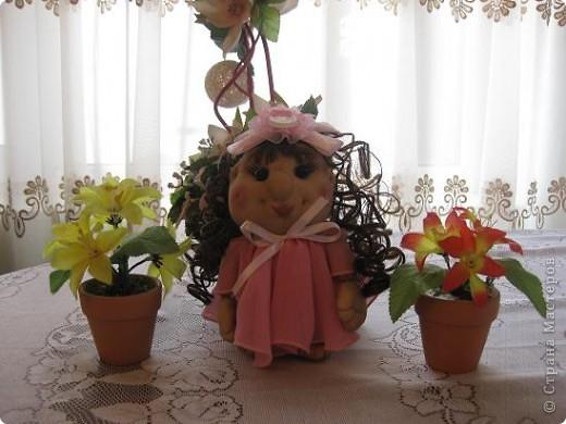 Сшила еще одну кукляшку и представляю на Ваш суд.Когда начинала шить,то и представления не имела,кто у меня получиться. фото 5