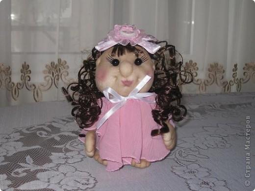 Сшила еще одну кукляшку и представляю на Ваш суд.Когда начинала шить,то и представления не имела,кто у меня получиться. фото 4