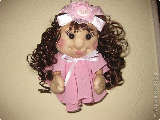 Сшила еще одну кукляшку и представляю на Ваш суд.Когда начинала шить,то и представления не имела,кто у меня получиться. фото 1