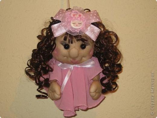 Сшила еще одну кукляшку и представляю на Ваш суд.Когда начинала шить,то и представления не имела,кто у меня получиться. фото 7