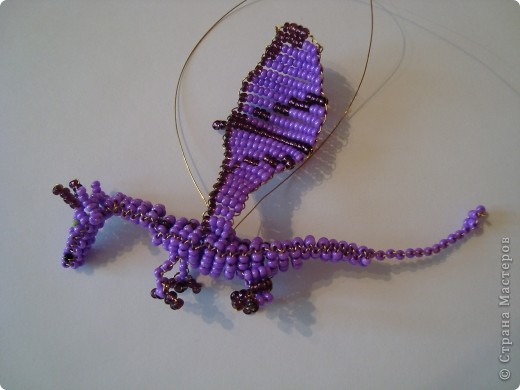 Этот МК - шаг к освоению более сложных драконов: http://stranamasterov.ru/node/138048, http://stranamasterov.ru/node/139030. Надеюсь, пригодится! фото 34