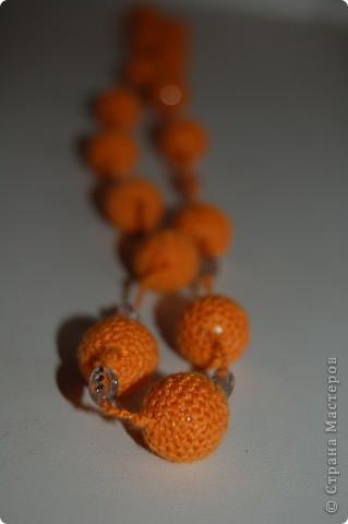 Вязаные бусы. фото 2
