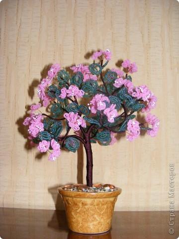 Бисероплетение - деревья -112 из бисера.