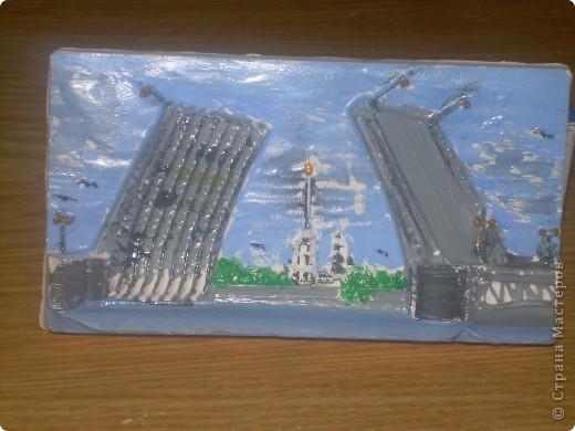 Разведение Дворцового моста фото 1