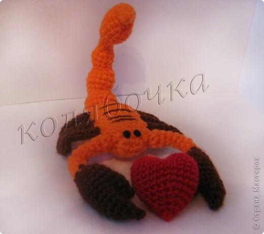 Скорпион.За описание благодарность Маришке Борисовой. фото 4