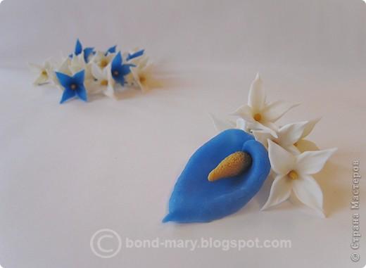 Декор предметов Лепка Цветочки из холодного фарфора Фарфор холодный фото 7