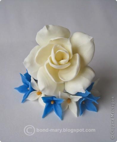 Декор предметов Лепка Цветочки из холодного фарфора Фарфор холодный фото 9