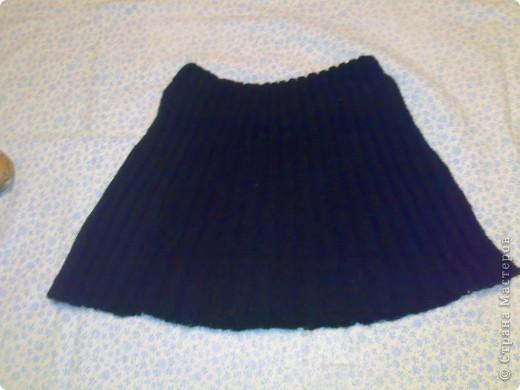 Джинсовая юбочка фото 2