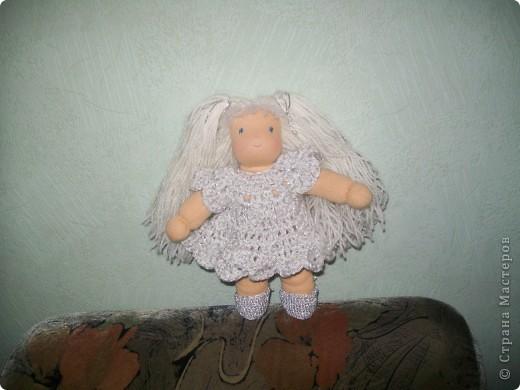 Вальдорфская кукла - Снежинка фото 1